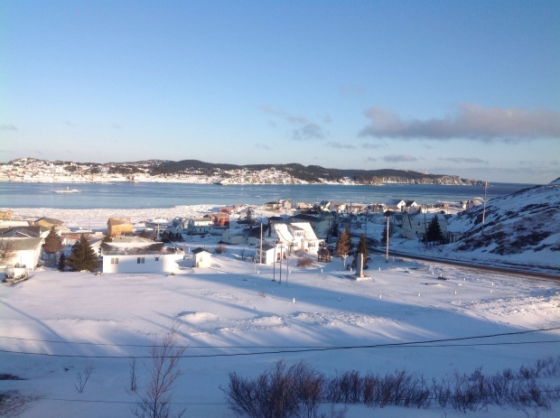 Break up in Twillingate harbour